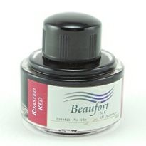 Roasted Red - Beaufort fountain pen ink. 45ml